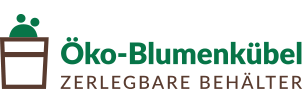 Öko-Blumenkübel Logo